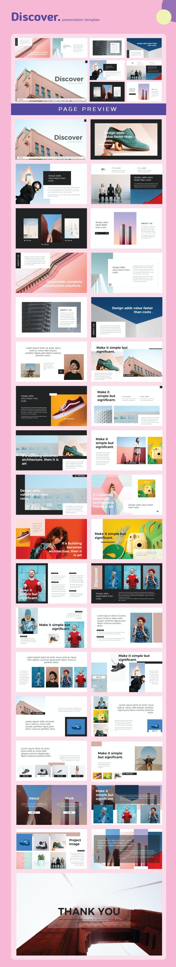 Discover Google Slides Templates - Creative PowerPoint Templates