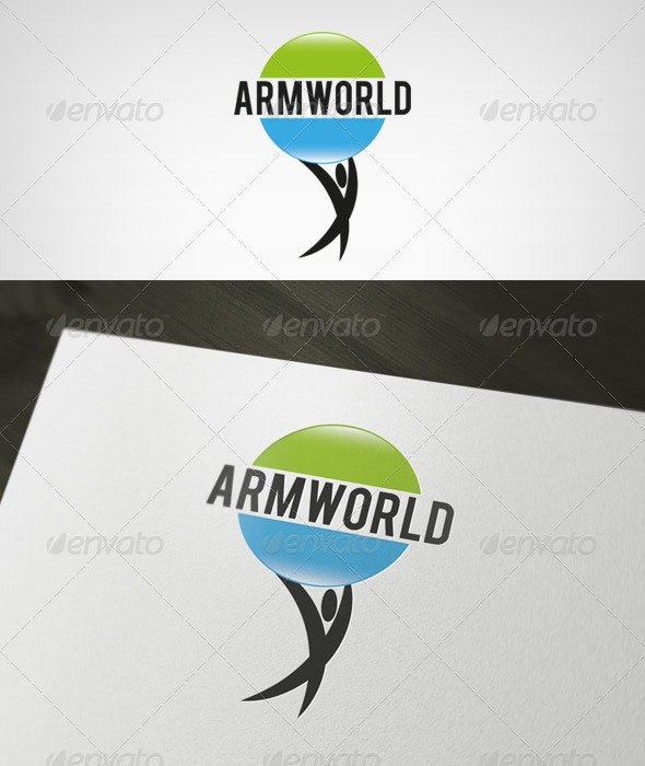 Armworld Logo - Humans Logo Templates
