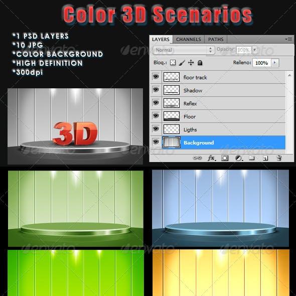 Scenarios 3D color