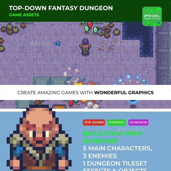 Top-down Fantasy Dungeon