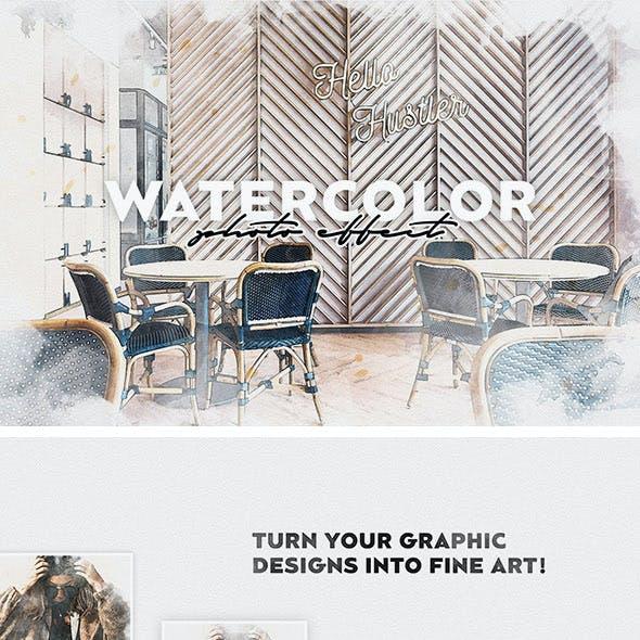 Watercolor Photoshop Effect