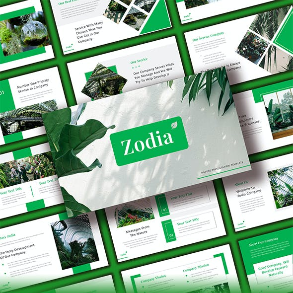 Zodia - Nature Powerpoint Template