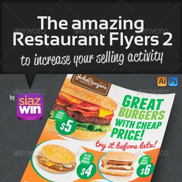 The Restaurant Flyers 2