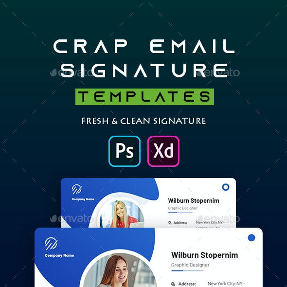Crap | Email Signature Template