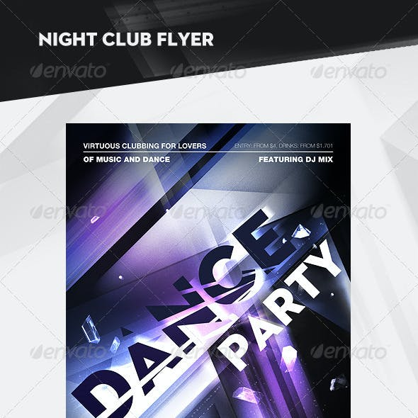 Night Club Flyer / Poster