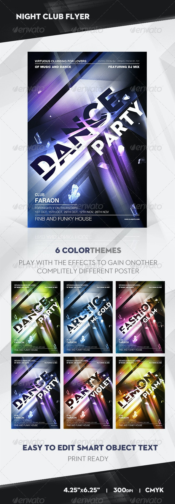 Night Club Flyer / Poster - Clubs & Parties Events
