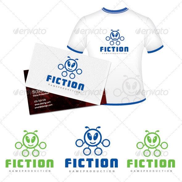 Fiction Game Production - Symbols Logo Templates