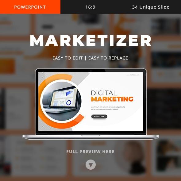 Marketizer - Business Powerpoint Template