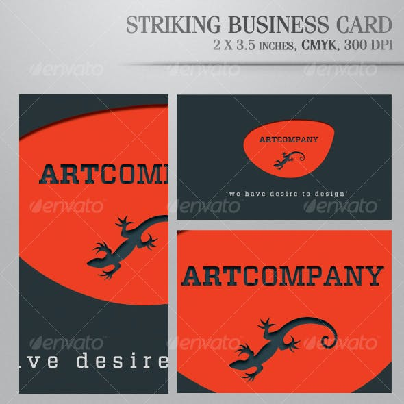 Striking Business Card