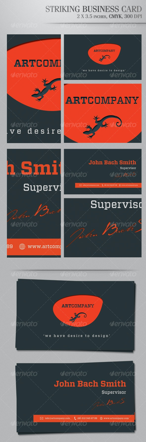 Striking Business Card - Corporate Business Cards