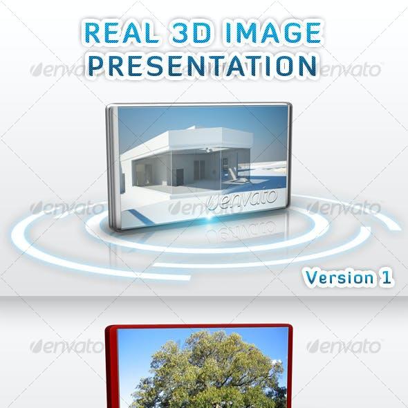 Real 3D Image Presentation