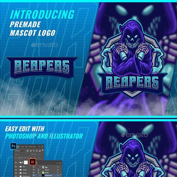 Dark Reaper - Mascot & Esport Logo