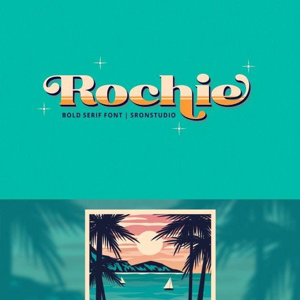 Rochie - Bold Retro Serif Font