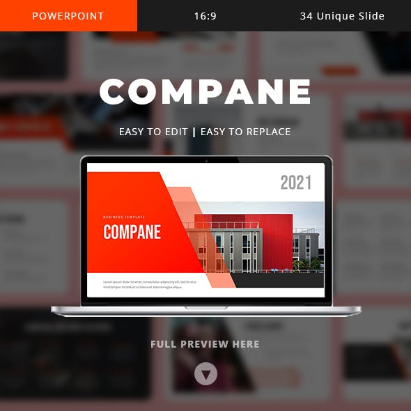 Compane - Business Powerpoint Template