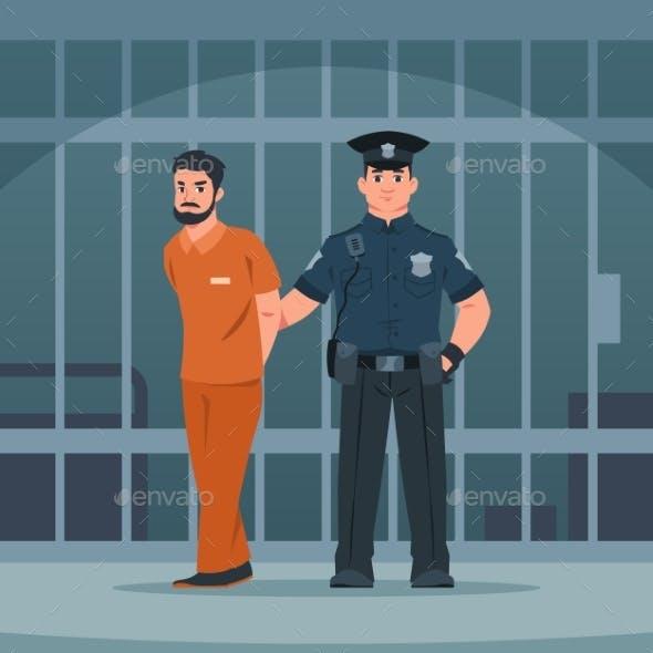 Policeman Arrest Thief