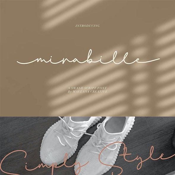 Mirabille Swash Script