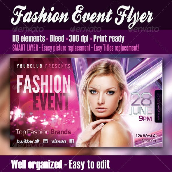 Fashion Event Flyer