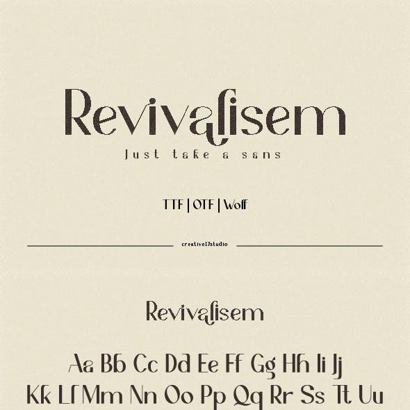 Revivalisem Sans Serif