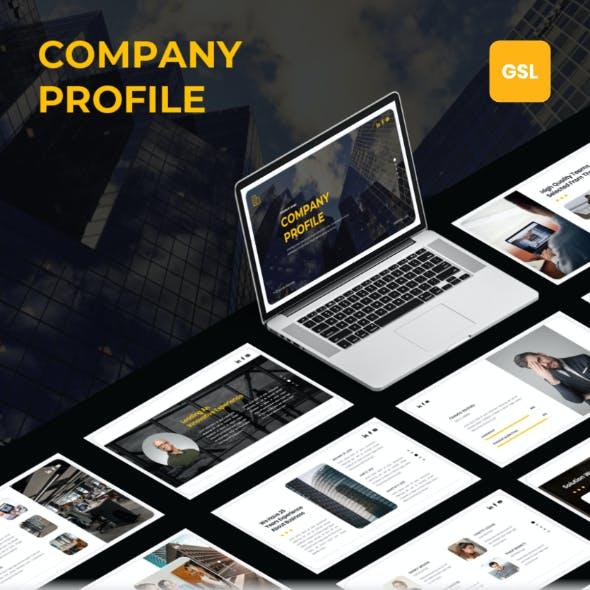 Company Profile - Google Slides Template