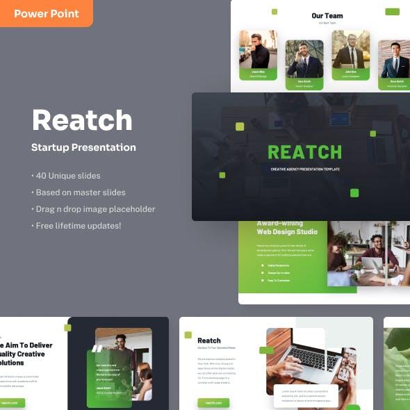 Reatch - Startup PowerPoint Presentation