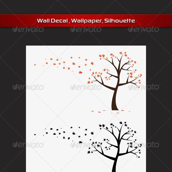 Maple Tree Wall Decla