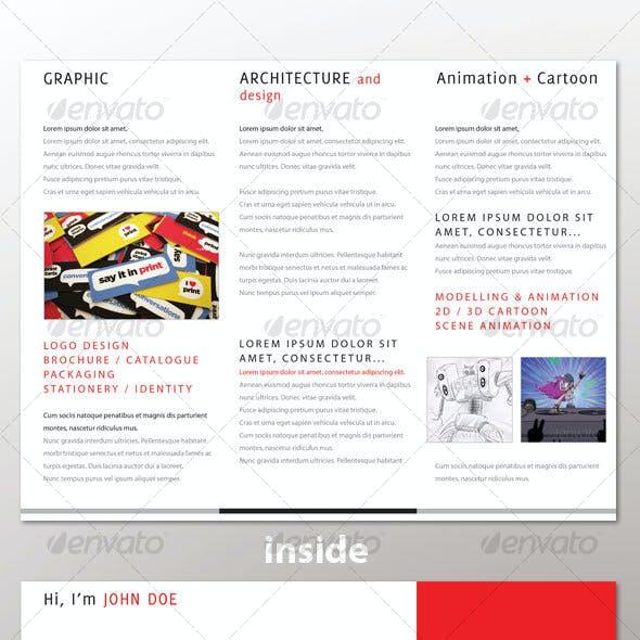 Personal Tri-Fold Brochure