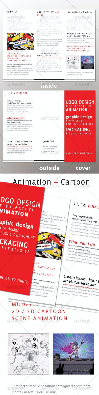 Personal Tri-Fold Brochure - Corporate Brochures