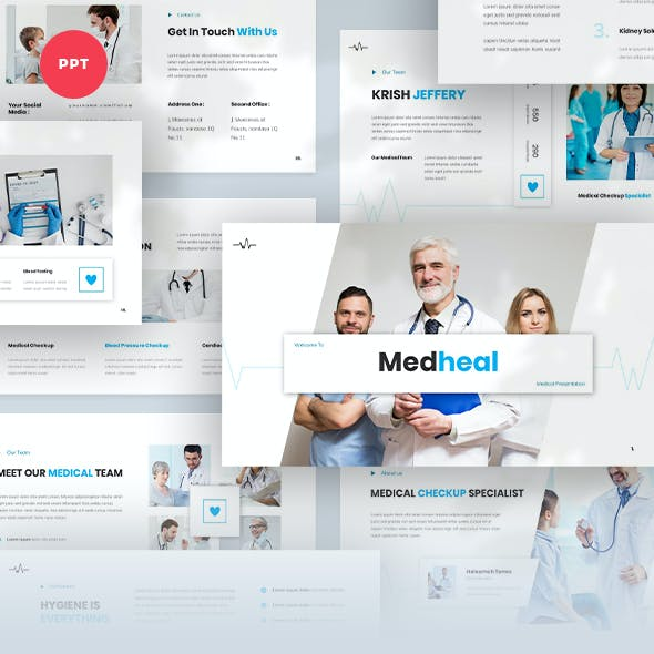 Medheal - Medical Powerpoint Template