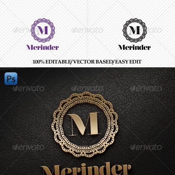 Merinder Logo Template