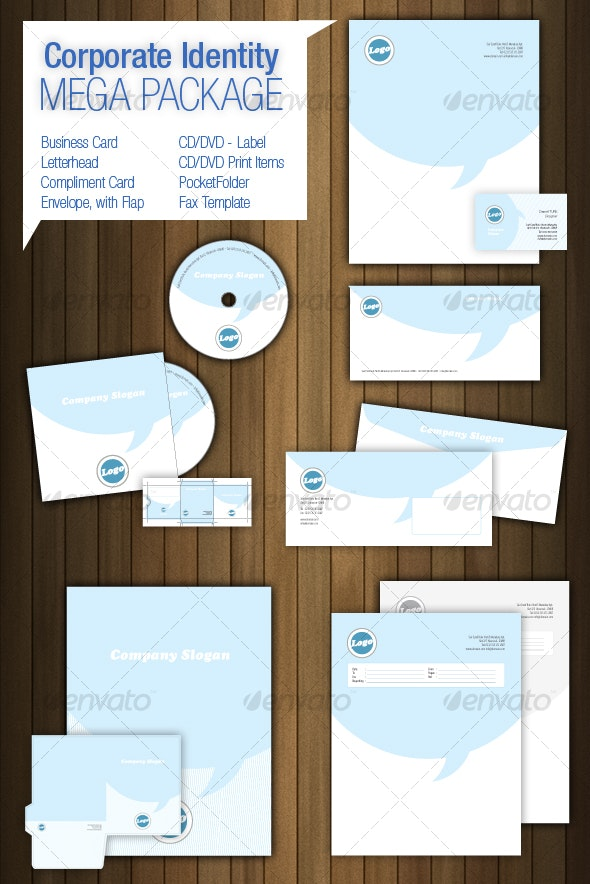 Corporate Identity Mega Package - Miscellaneous Print Templates