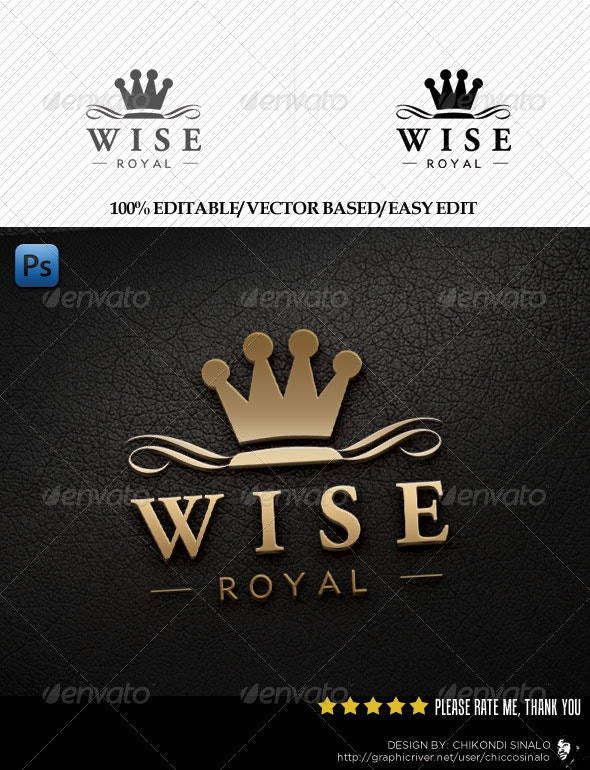 Wise Royal Template - Abstract Logo Templates
