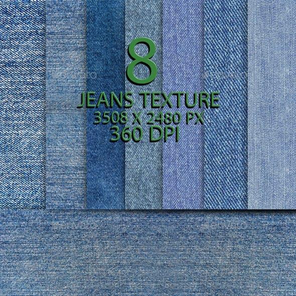 8 Jeans Texture Background Part