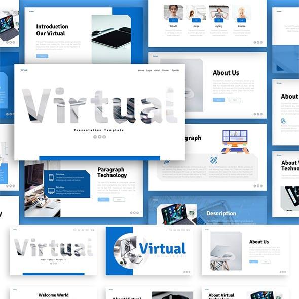 Virtual Technology Presentation Template
