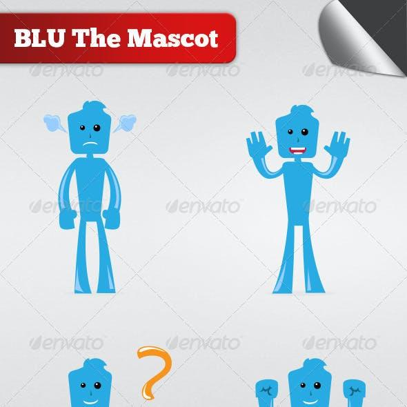 Blu The Mascot