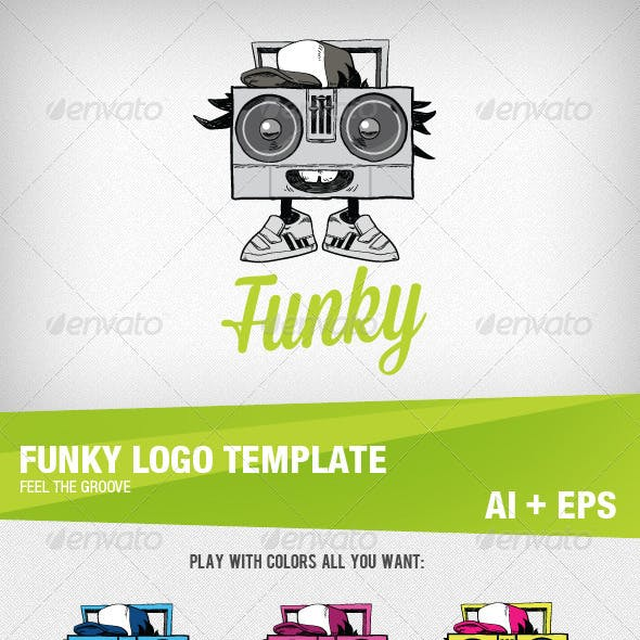 Funky Logo Template