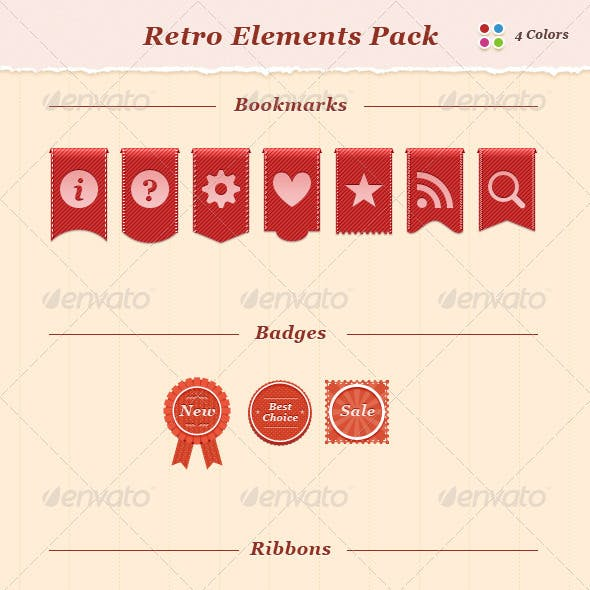 Retro Elements Pack