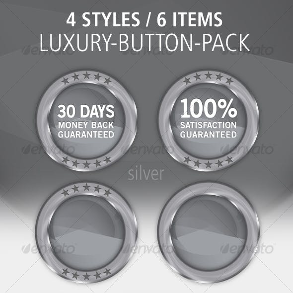 4 Color Button-Set: Glossy / Metal / Luxury