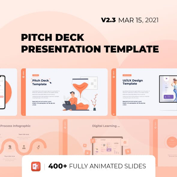 Pitch Deck & Presentation - Smooth Animated Template