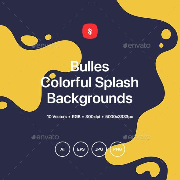 Bulles - Colorful Splash Backgrounds