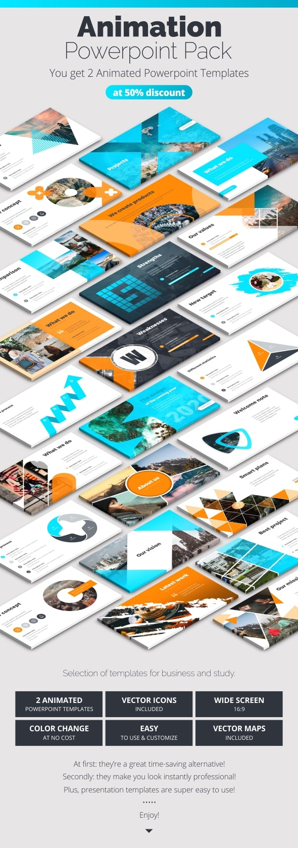 Business Infographics Powerpoint