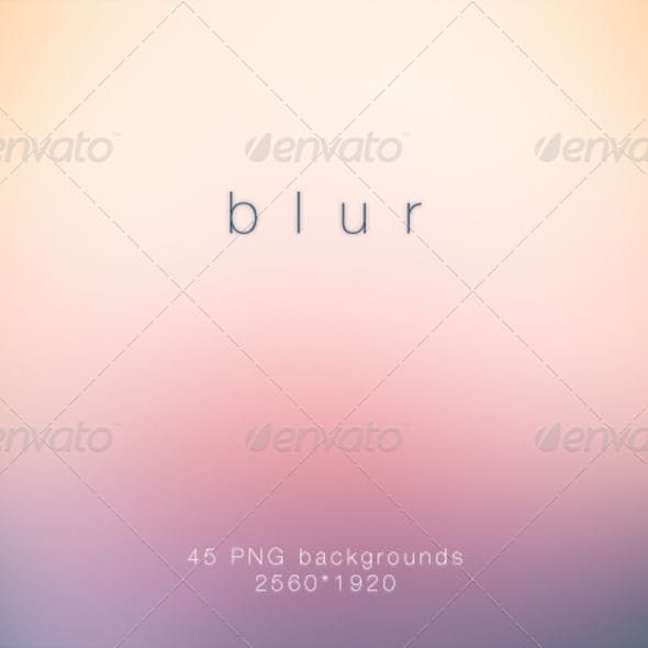 Blur - Deluxe Blurred HD Backgrounds