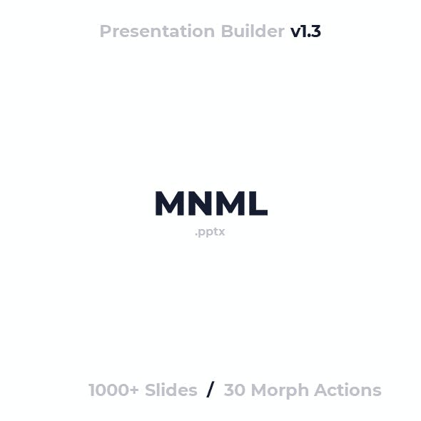 MNML - PowerPoint Presentation Template