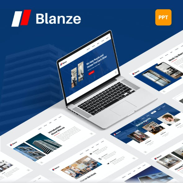 Blanze - Real Estate PowerPoint Template