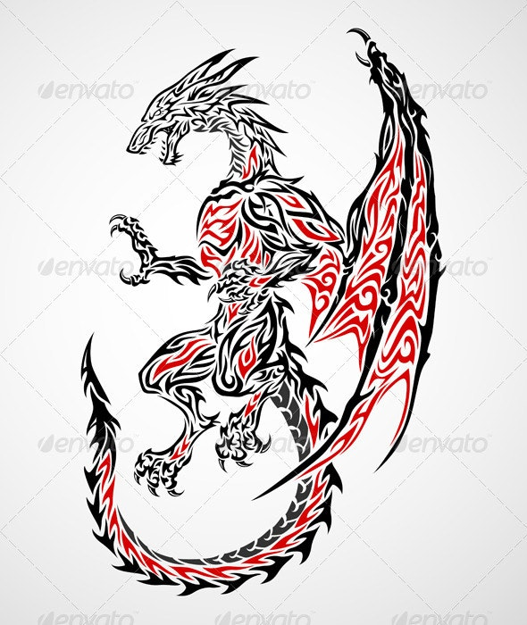 Dragon Tattoo 2 - Monsters Characters