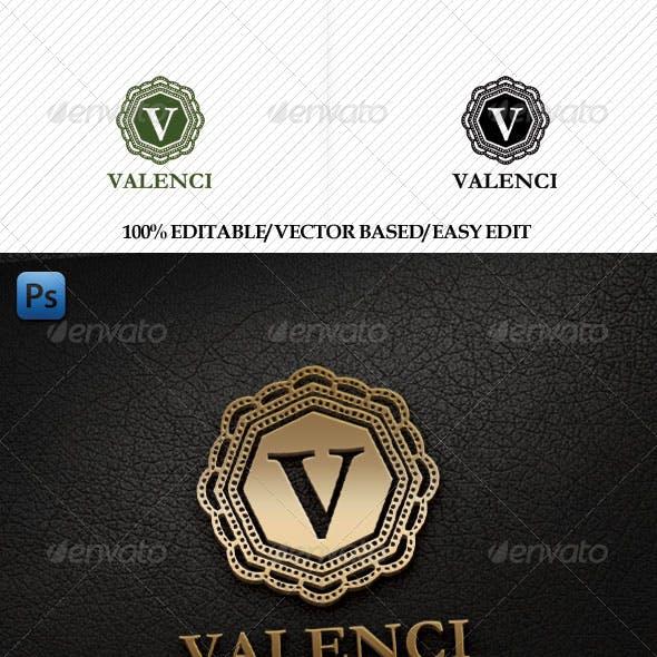 Valenci Logo Template