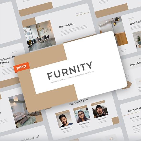 Furnity - Furniture Minimalism Powerpoint Template