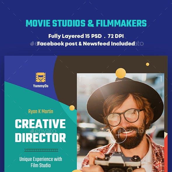 Movie Studios & Filmmakers Banners Ad