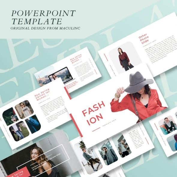 Fashion & Clothing Presentation Template Vol. 01