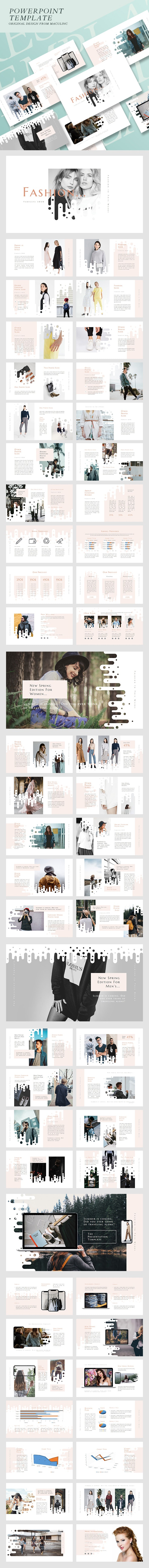 Fashion & Clothing Presentation Template Vol. 02 - Business PowerPoint Templates