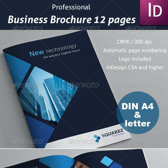 Business Brochure 12 pages